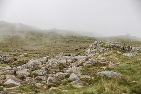 Climb to Bowfell
