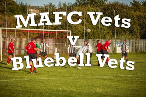 MAFC Vets vs Bluebell Vets