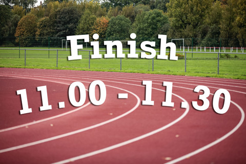Finish 11:00 - 11:30
