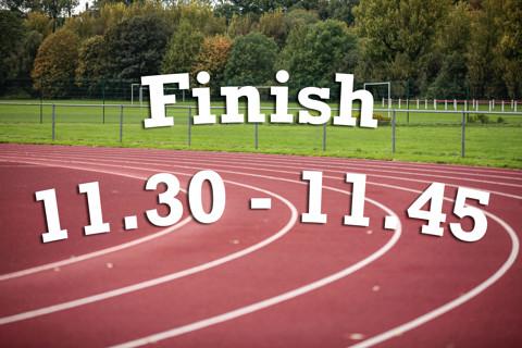 Finish 11:30 - 11:45