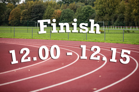 Finish 12:00 - 12:15