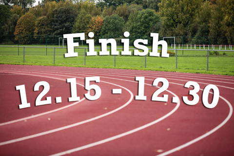 Finish 12:15 - 12:30