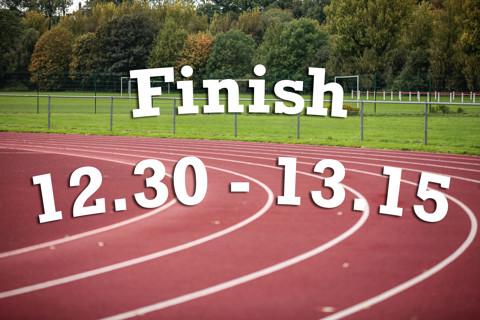 Finish 12:30 - 13:15
