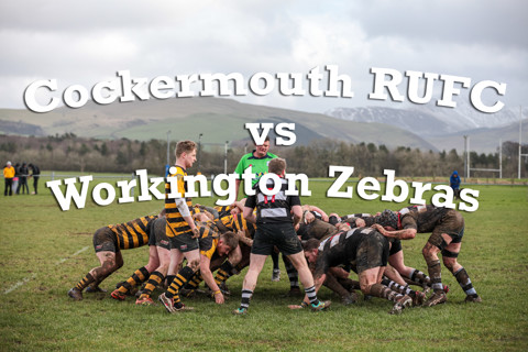 Cockermouth RUFC vs Workington Zebras 29.02.2020