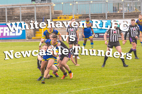 Whitehaven RL vs Newcastle Thunder